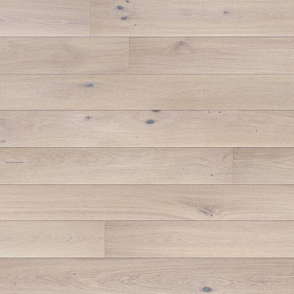 Baelea Narrow Alaska White Oak UV Matt Lacquered 130mm Wide Engineered Wood Flooring BF42