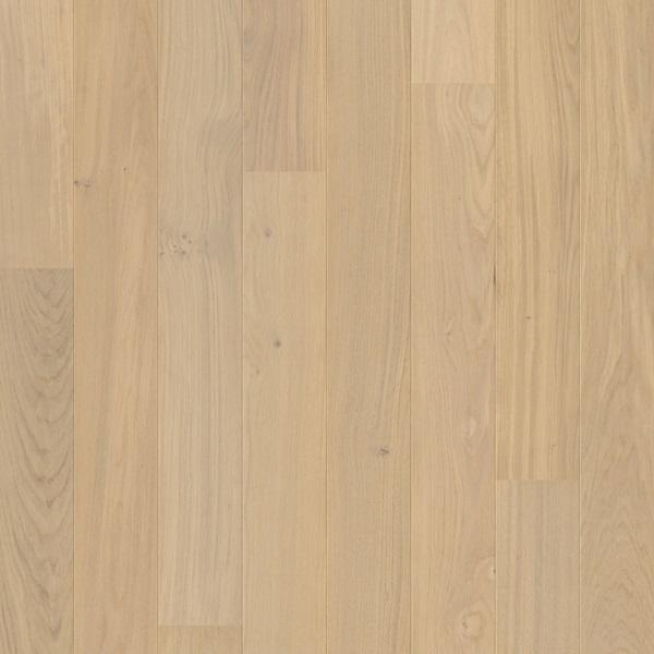 Quick-Step Compact Oak Cotton White Matt Lacquered Engineered Realwood Flooring COM1451