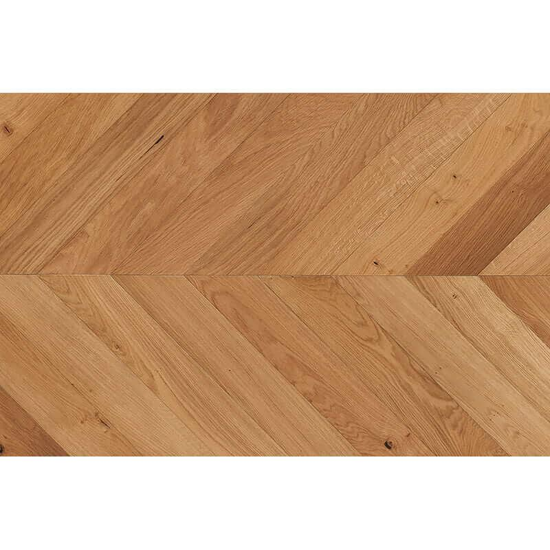 Tuscan Modelli Natural Oak Brushed UV Oiled Chevron Parquet TF40 Engineered Wood Flooring