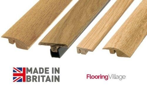 Solid Oak Door Threshold Profiles