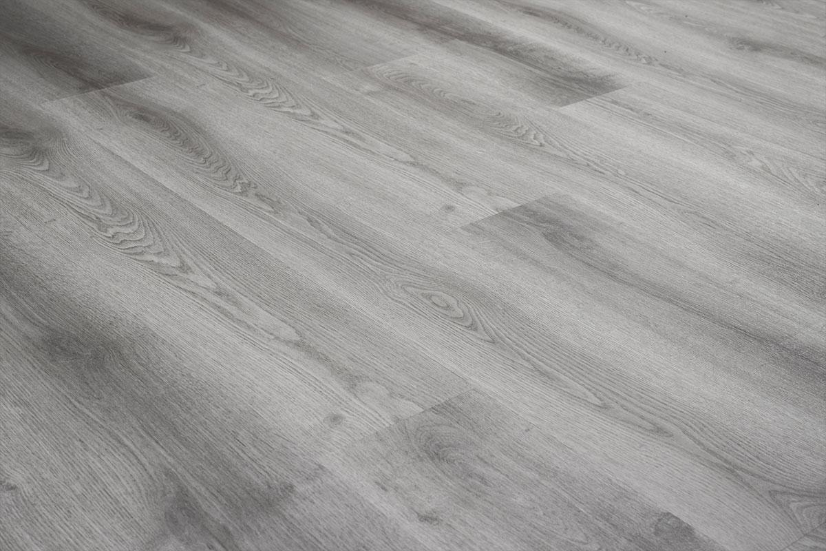 Baelea Aqua Rigid Core Light Grey Oak Click Engineered Vinyl Floor