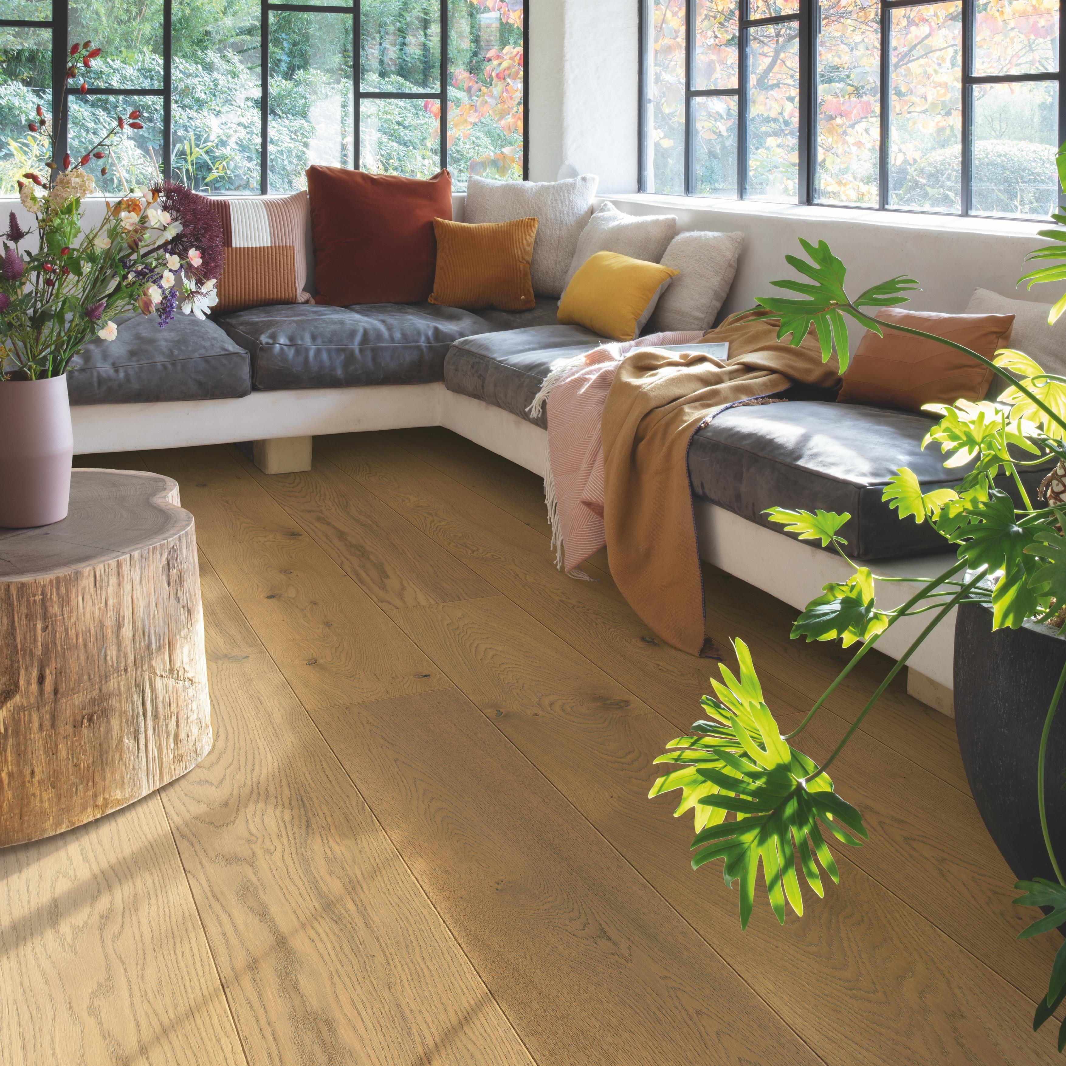 Quick-Step Imperio Dark Chestnut Oak Extra Matt Engineered Realwood Flooring IMP5104S