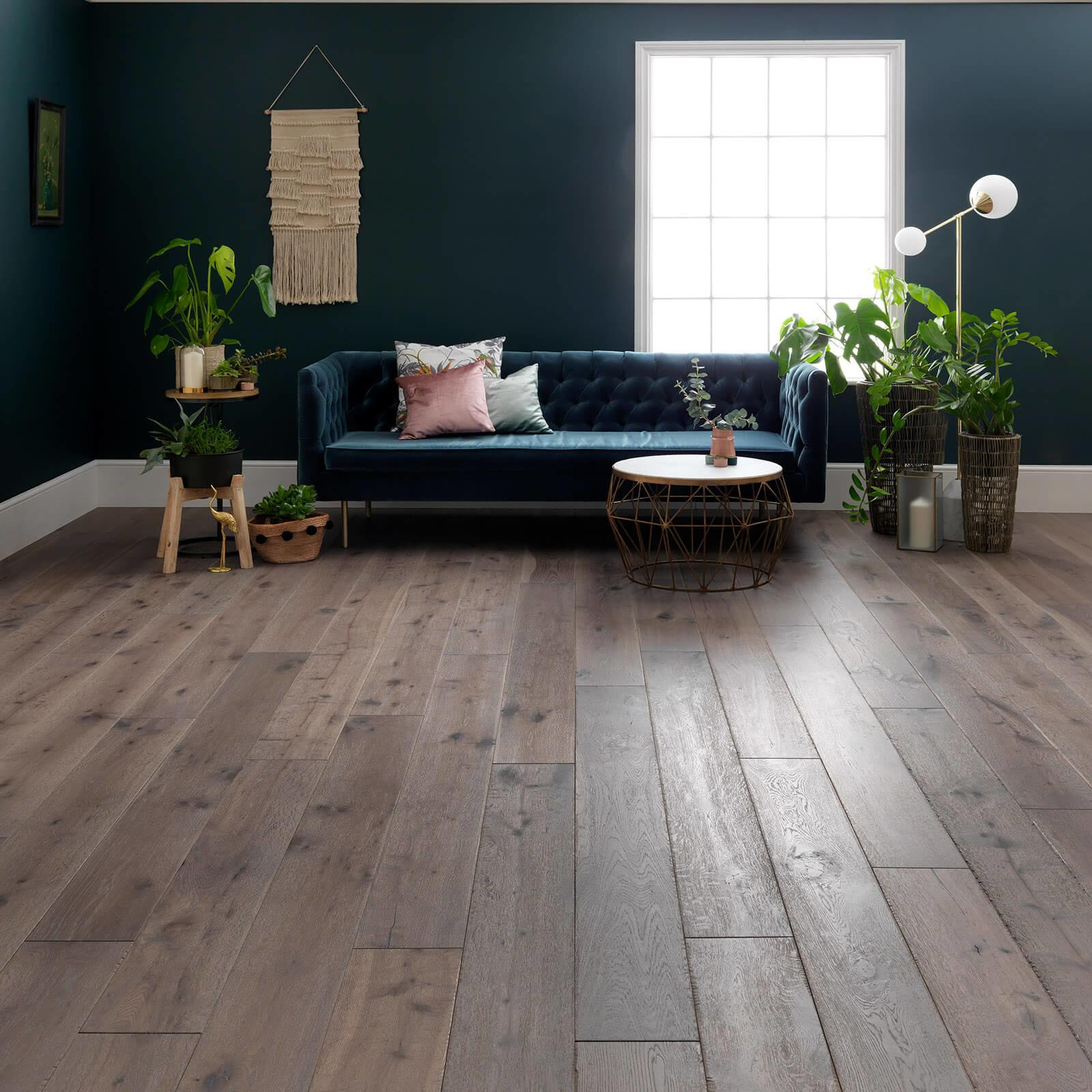 Woodpecker Berkeley Calico Oak Oiled 38-BCC-001 Engineered Wood Flooring