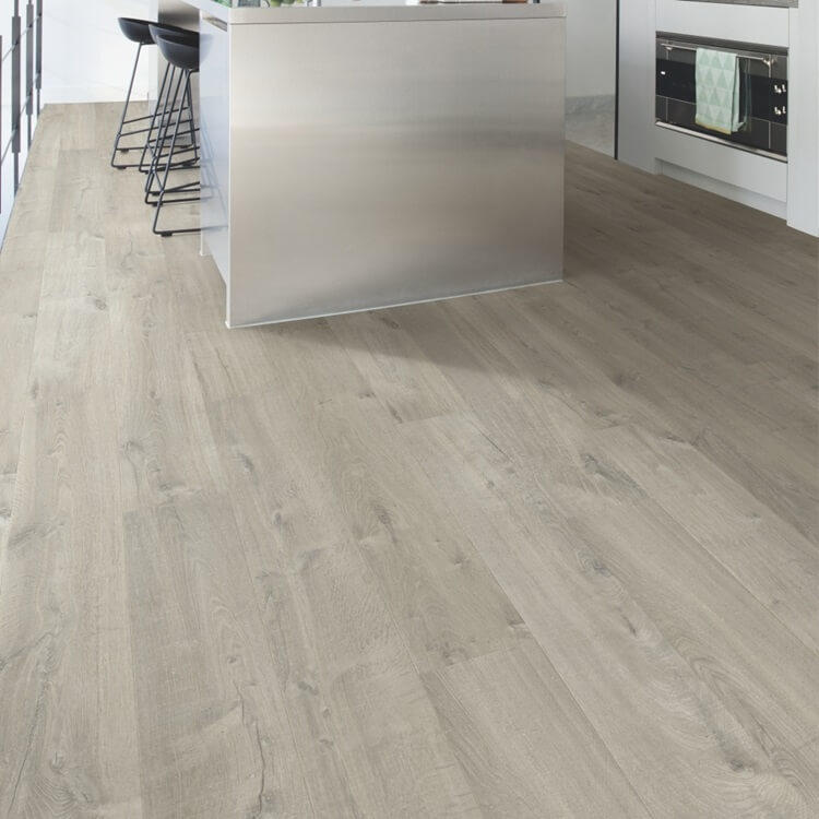 Quick-Step Impressive Soft Oak Grey IM3558 8mm Laminate Flooring