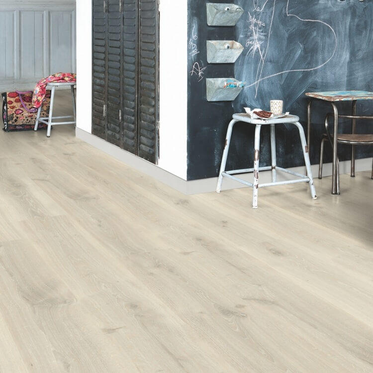 Quick-Step Creo Tennessee Oak Greige Grey CR3181 Laminate Flooring