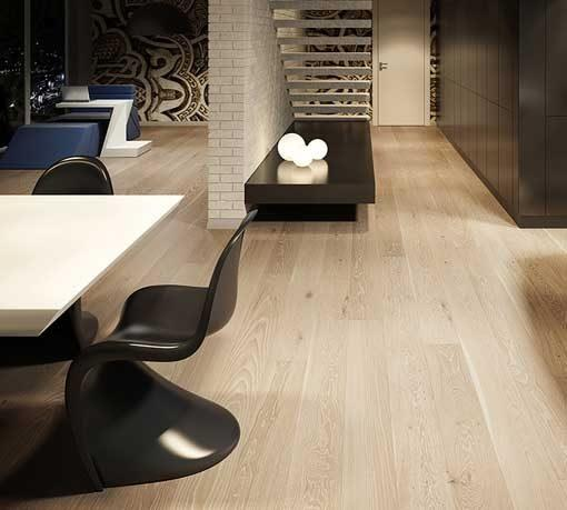 Baelea Holt Savernake Oak Brushed & Matt Lacquered 180mm Wide Engineered Wood Flooring