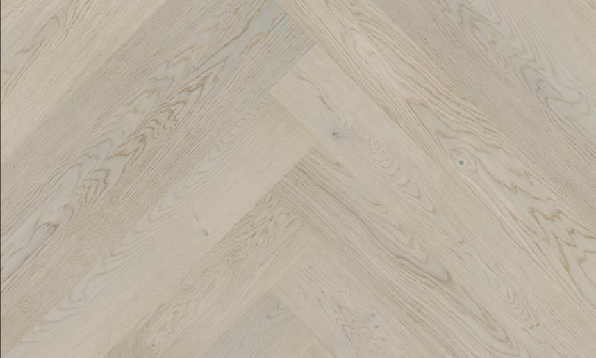 Parquet Cannock Oak Herringbone HOZCANN Brushed & Matt Lacquered Baelea Holt Engineered Wood Flooring