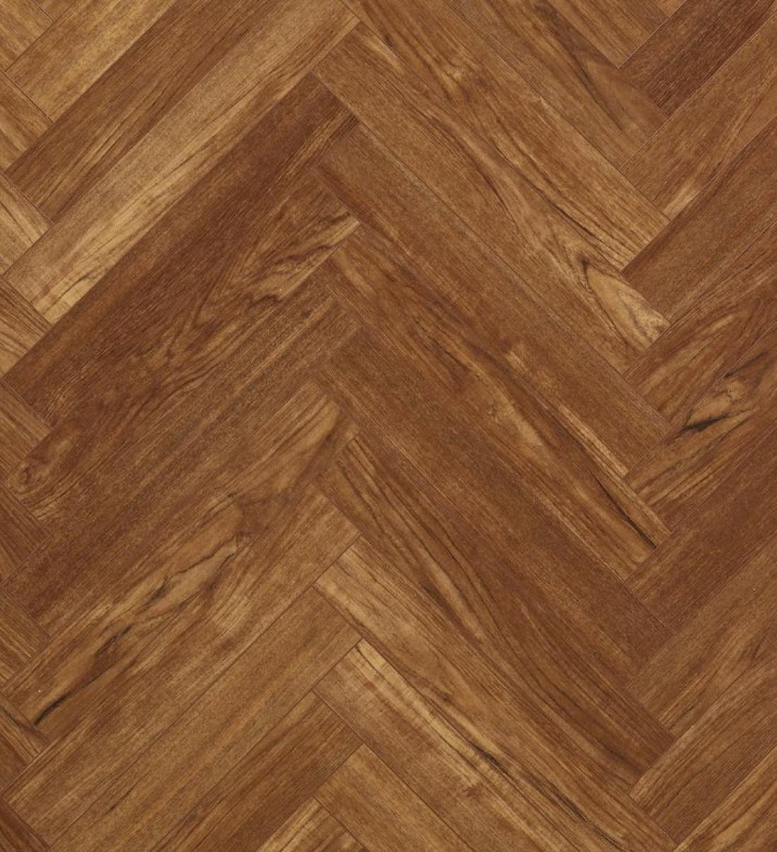 Berry Alloc Chateau Teak Brown Parquet Herringbone Laminate Flooring
