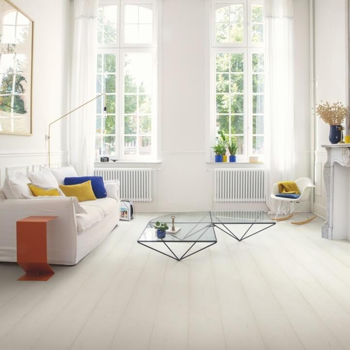 Quick-Step Signature Painted White Oak SIG4753 Laminate Flooring