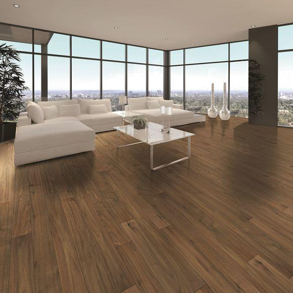Tuscan Terreno American Walnut Flat Sanded & UV Lacquered TF110 Engineered Wood Flooring