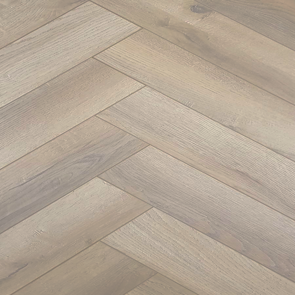 Baelea Nature Parquet Rustic Driftwood Grey Oak 12mm Laminate Flooring