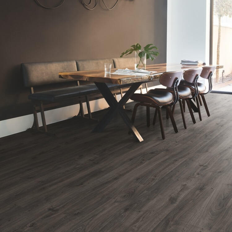 Quick Step Eligna Newcastle Oak Dark Planks EL3581 Hydroseal Laminate Flooring