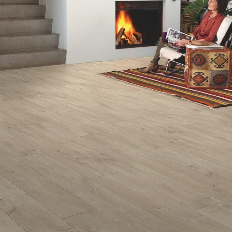 Quick-Step Largo Cambridge Oak Natural Planks LPU1662 Laminate Flooring