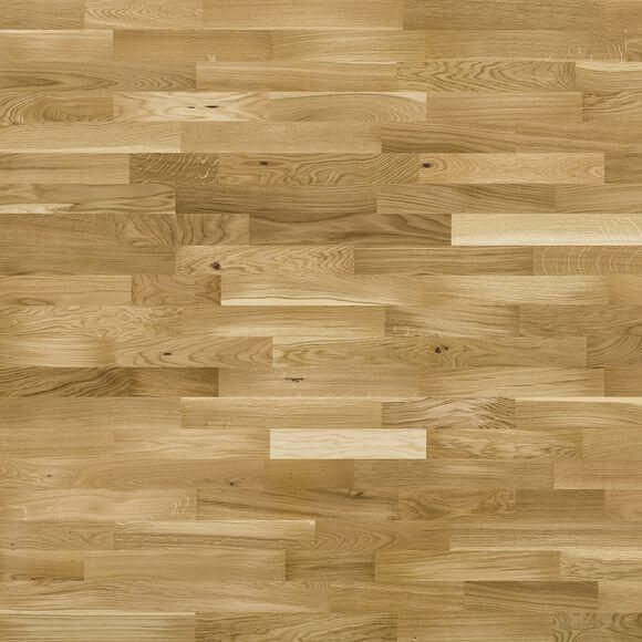 Baelea 3 Strip Oak UV Lacquered Click Engineered Wood Flooring 2200mm x 207mm x 14/3mm