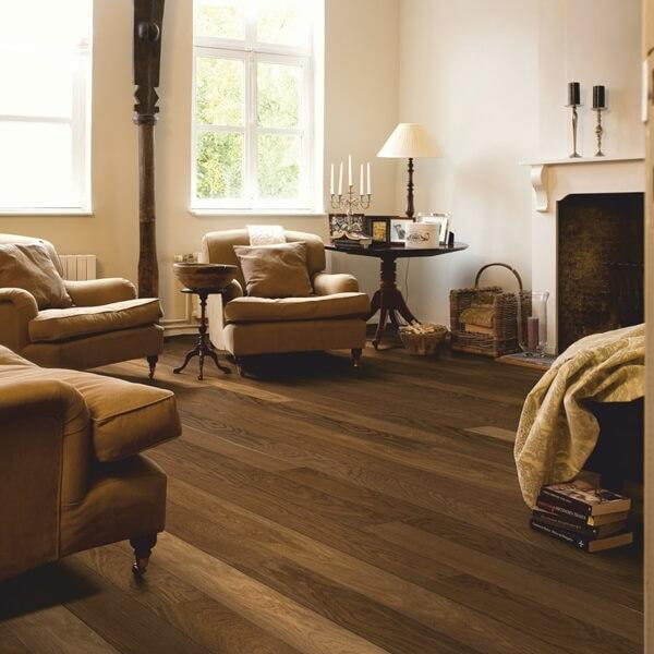 Quick-Step Havana Smoked Oak Matt Engineered Realwood Flooring CAS1354S