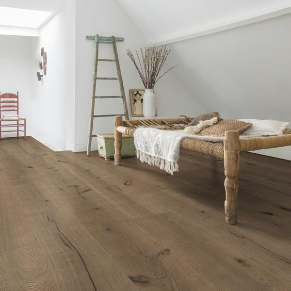 Quick Step Mimo Dark Chocolate Oak Extra Matt Oiled Engineered Realwood Flooring Mas3564s