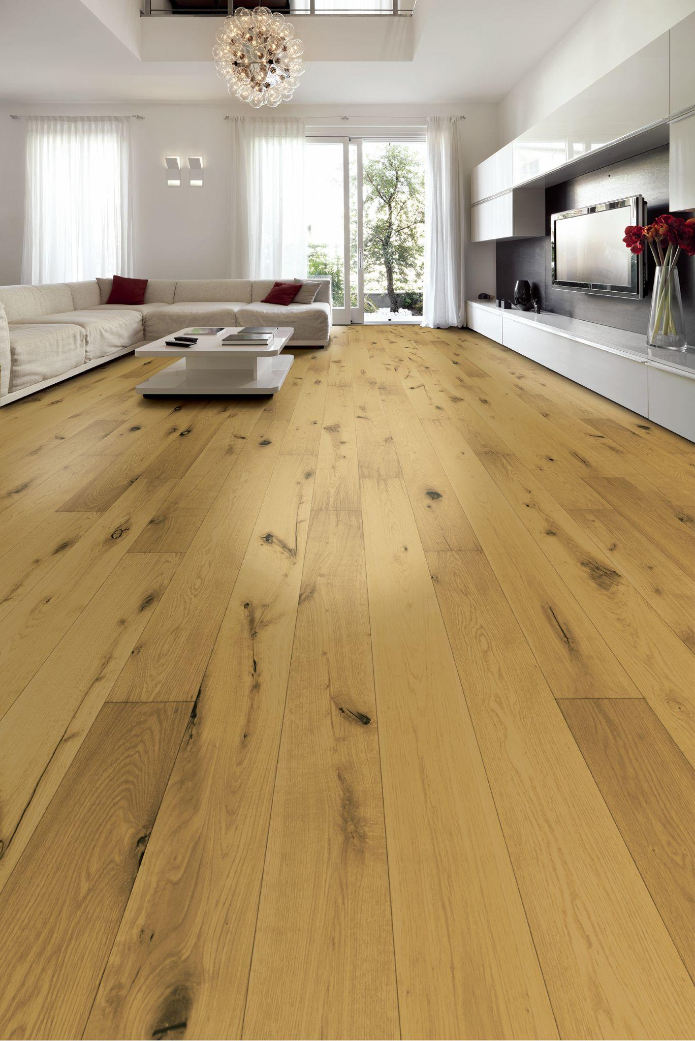 Tuscan Vintage Classic Light Smoked Oak Enhanced Hand Scraped Brushed UV Oiled TF203 Engineered Wood Flooring