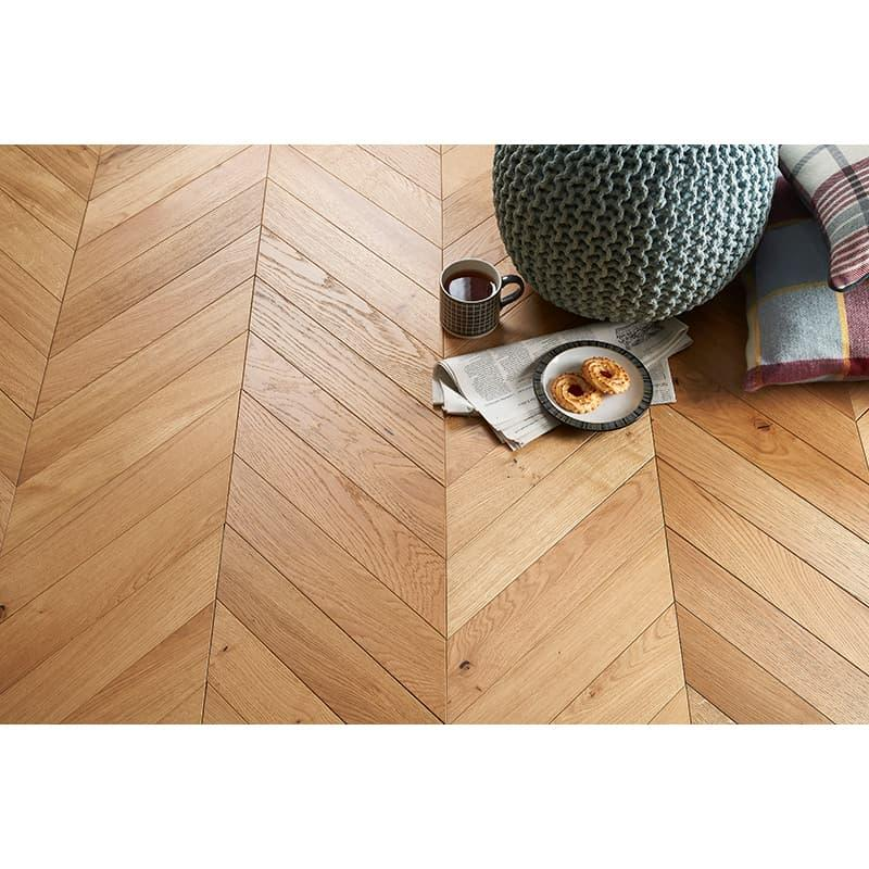 Tuscan Modelli Chevron Parquet Engineered Wood Flooring