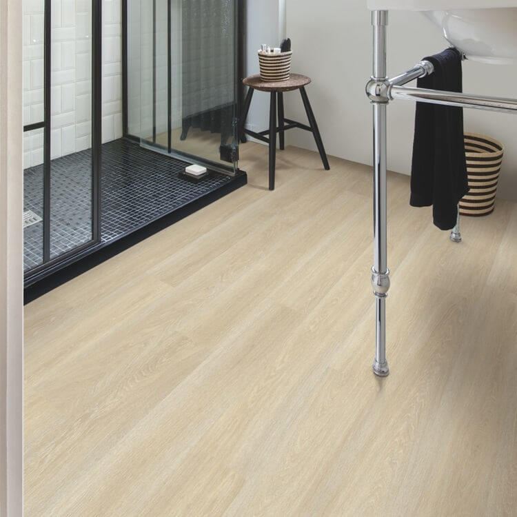 Quick Step Eligna Estate Oak Beige Planks EL3574 Hydroseal Laminate Flooring