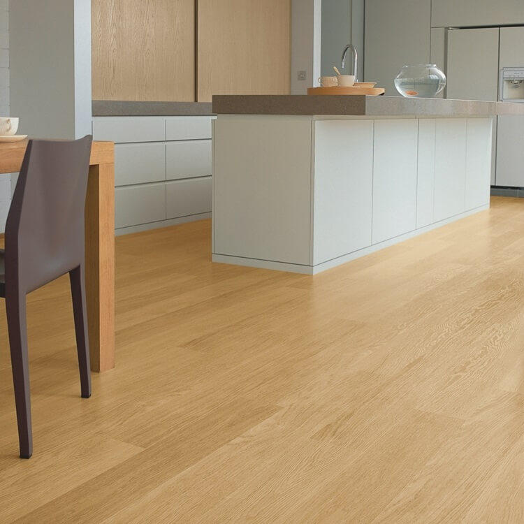 Quick Step Eligna Natural Varnished Oak Planks El896 Hydroseal Laminate Flooring
