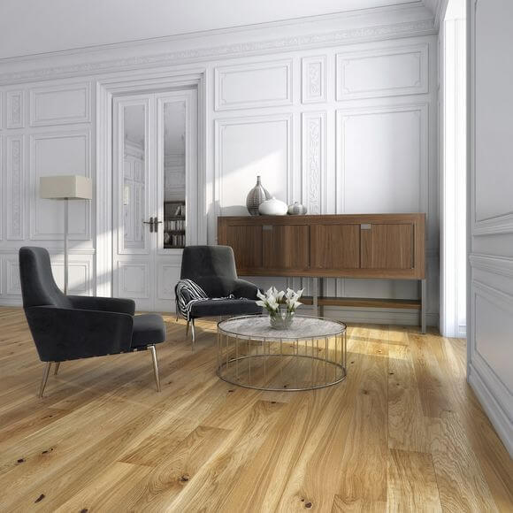 Baelea Country Oak Brushed & Oiled 4V Click Engineered Wood Flooring 2200mm x 180mm x 14/3mm