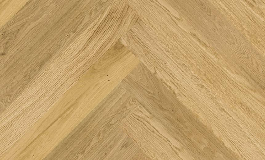 Parquet Aston Oak Herringbone HOZASTO Brushed & Matt Lacquered Baelea Holt Engineered Wood Flooring