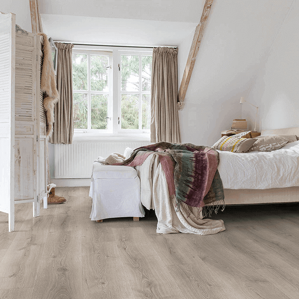 Quick-Step Majestic Desert Oak Brushed Grey Planks MJ3552 Laminate Flooring
