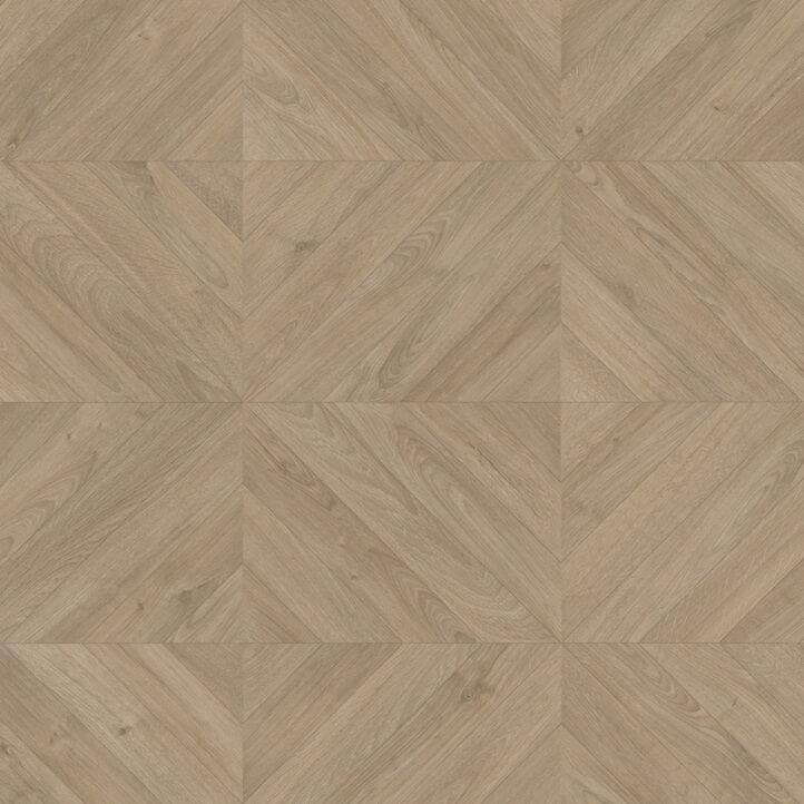 Quick-Step Impressive Patterns Chevron Oak Taupe IPA4164 8mm Laminate Flooring