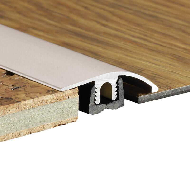 Metal Ramp Profile for Woodpecker Wood Flooring