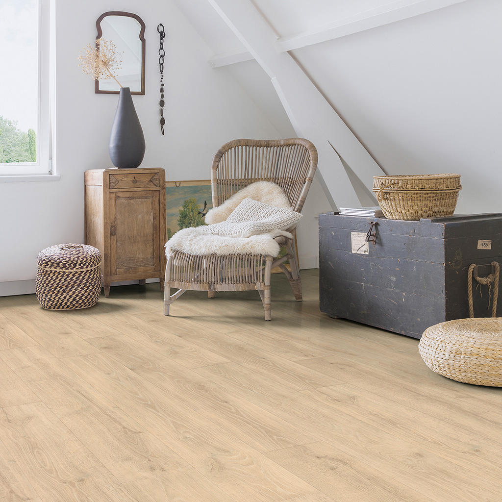 Quick-Step Majestic Woodland Oak Beige Planks MJ3545 Laminate Flooring