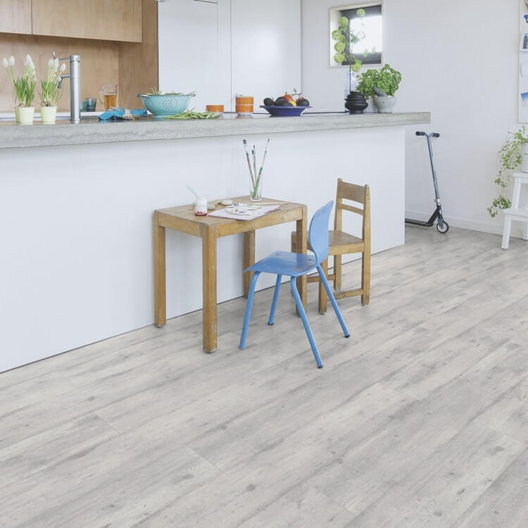 Quick Step Impressive Concrete Wood Light Grey Im1861 8mm Laminate Flooring
