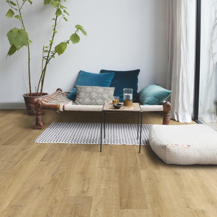 Quick Step Eligna Riva Oak Natural Planks EL3578 Hydroseal Laminate Flooring