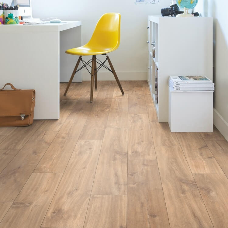 Quick Step Classic Midnight Oak Natural CLM1487 Hydroseal Laminate Flooring