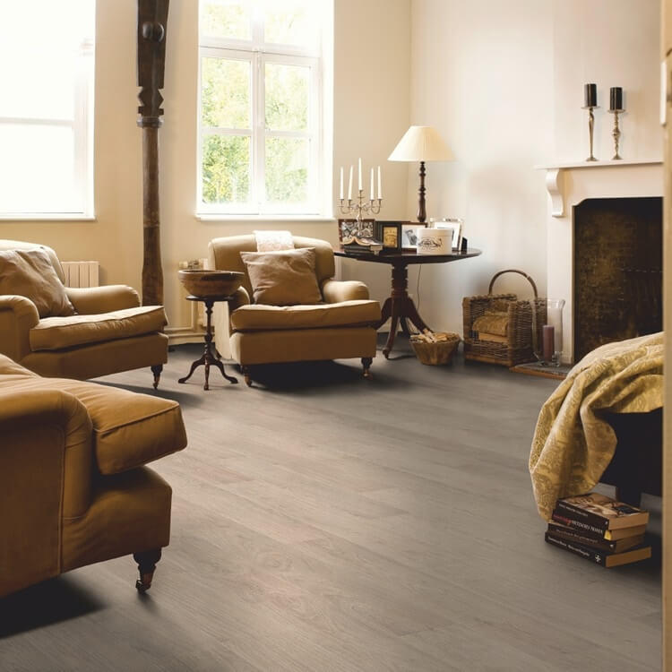 Quick-Step Classic Bleached White Oak CLM1291 Hydroseal Laminate Flooring