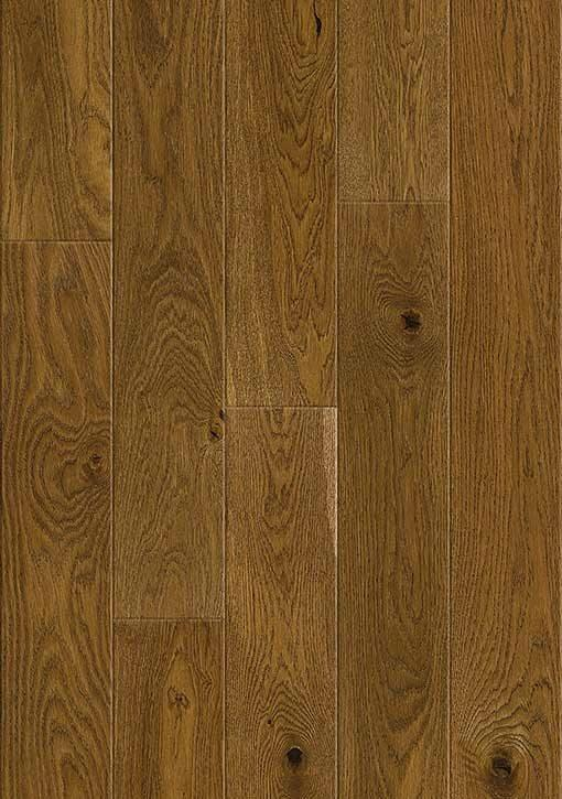 Baelea Holt Horsford Oak Brushed Matt Lacquered 130mm Wide Narrow Engineered Wood Flooring