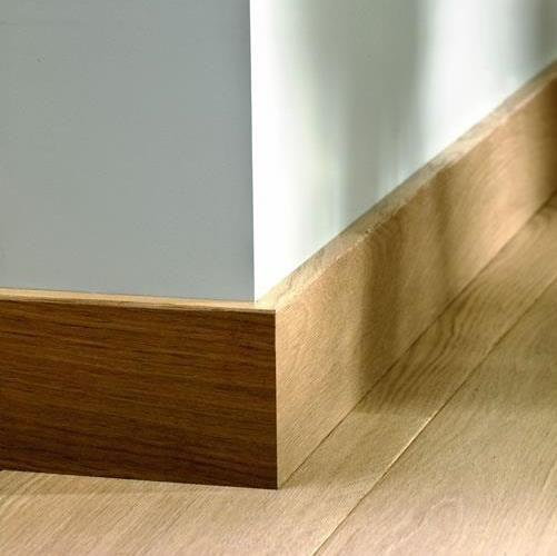 Quick-Step Colour Match Skirting Boards Veneered for Engineered Floors (2.4m)
