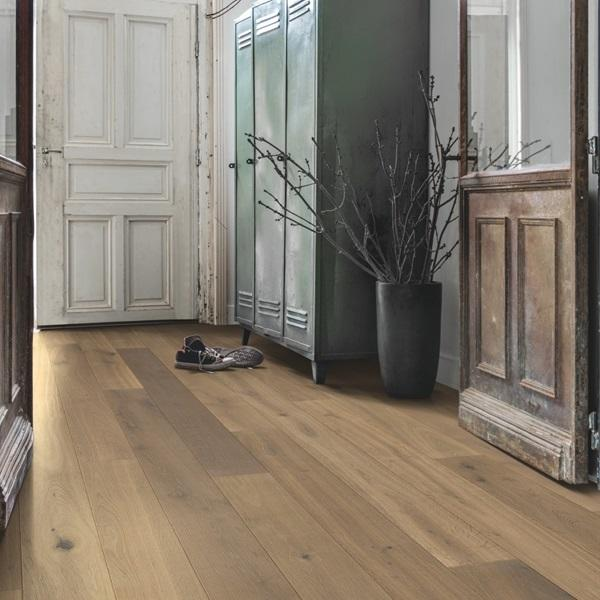 Quick-Step Compact Nutmeg Oak Oiled Engineered Realwood Flooring COM3898