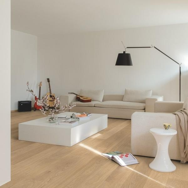 Quick-Step Palazzo Refined Oak Extra Matt Lacquered Engineered Realwood Flooring PAL3095S