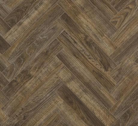 Berry Alloc Chateau Java Brown Parquet Herringbone Laminate Flooring