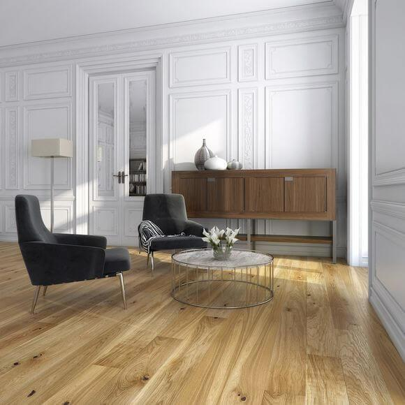 Brushed & Oiled Engineered Wood Flooring