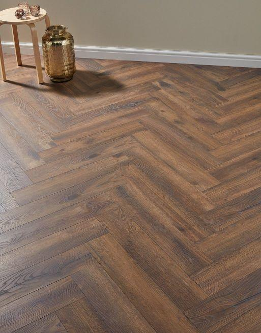 Baelea Nature Parquet Rustic Chocolate Oak 12mm Laminate Flooring