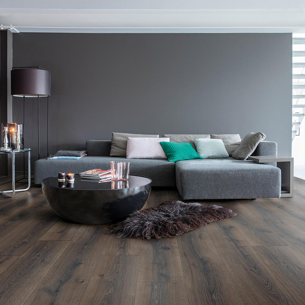 Quick-Step Majestic Desert Oak Brushed Dark Brown Planks MJ3553 Laminate Flooring