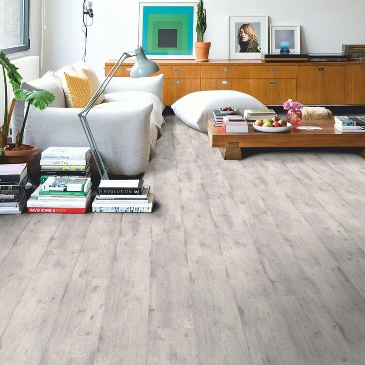 Quick-Step Impressive Concrete Wood Light Grey IM1861 8mm Laminate Flooring