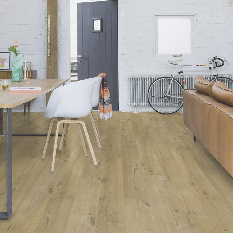 Quick-Step Impressive Ultra Soft Oak Natural IMU1855 12mm Laminate Flooring