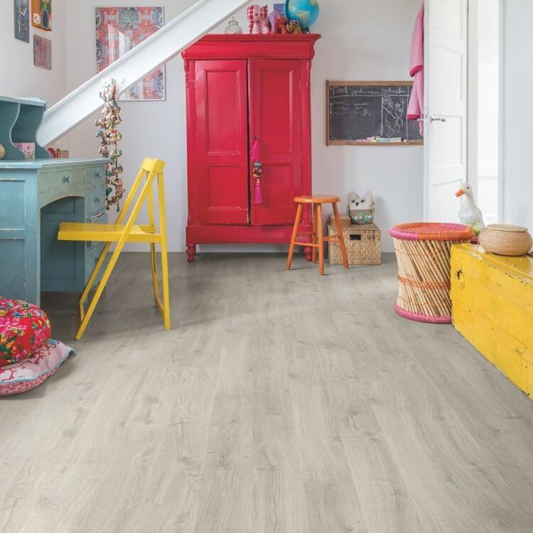 Quick-Step Eligna Newcastle Oak Grey Planks EL3580 Hydroseal Laminate Flooring