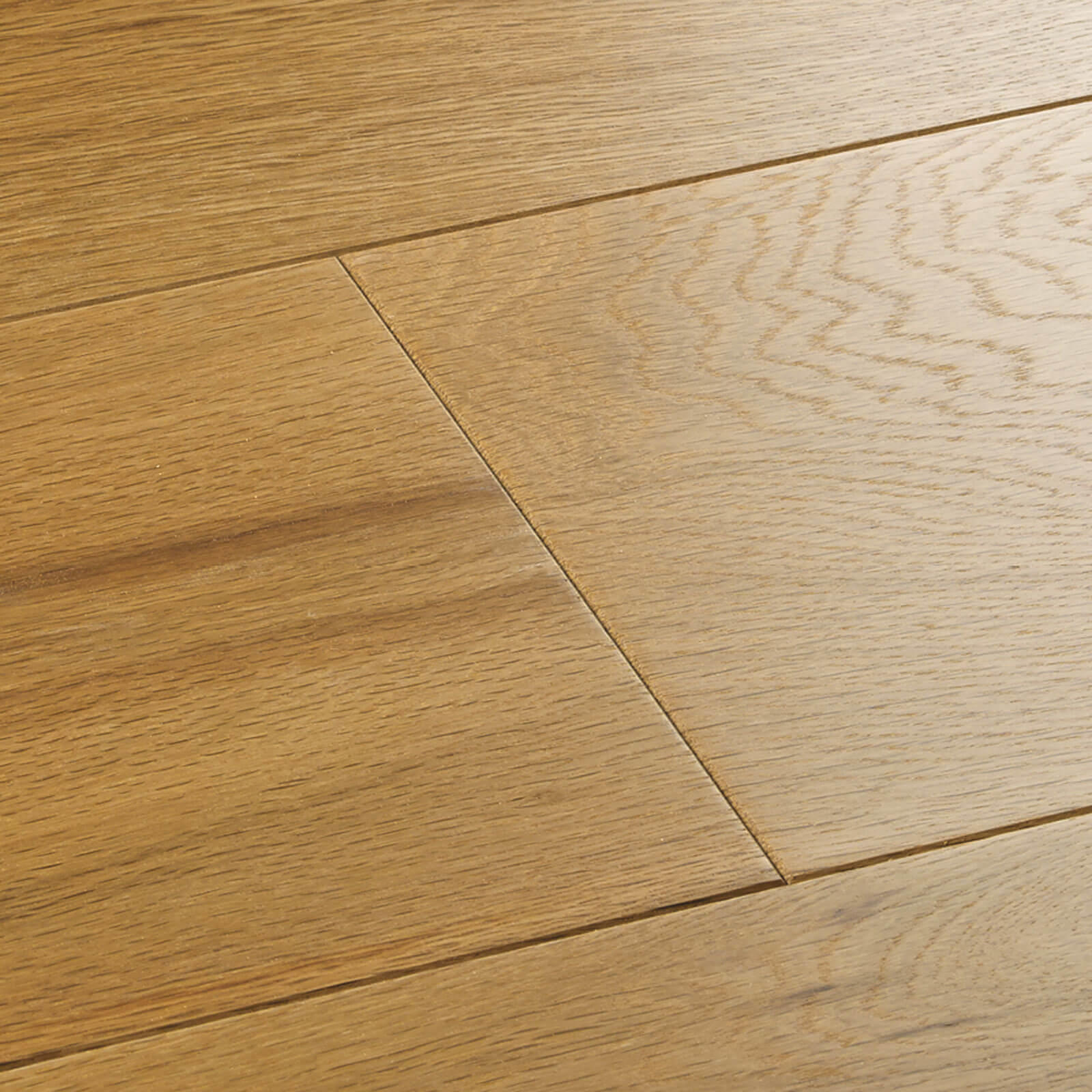 Woodpecker Salcombe Natural Oak Brushed & Matt Lacquered 45-WGO-000 Engineered Wood Flooring