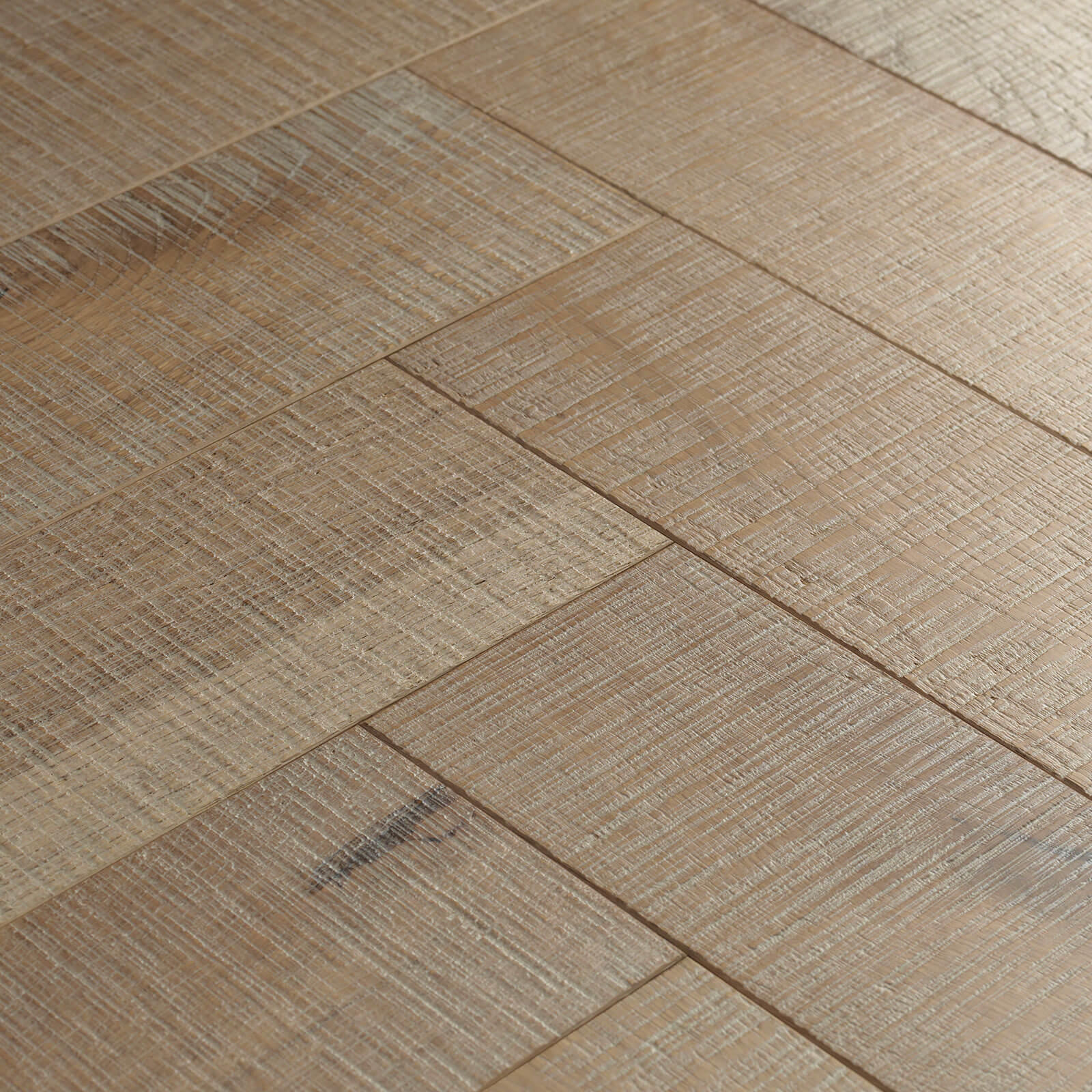 Woodpecker Goodrich Herringbone Salted Oak Brushed & Matt Lacquered Engineered Wood Flooring 32-SGR-001