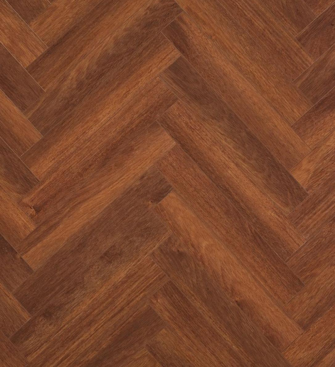 Berry Alloc Chateau Merbau Brown Parquet Herringbone Laminate Flooring