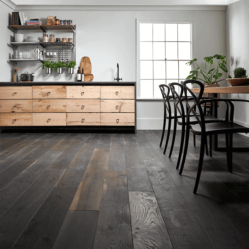 Woodpecker Berkeley Distressed Cellar Oak 38-BCO-001 Engineered Wood Flooring