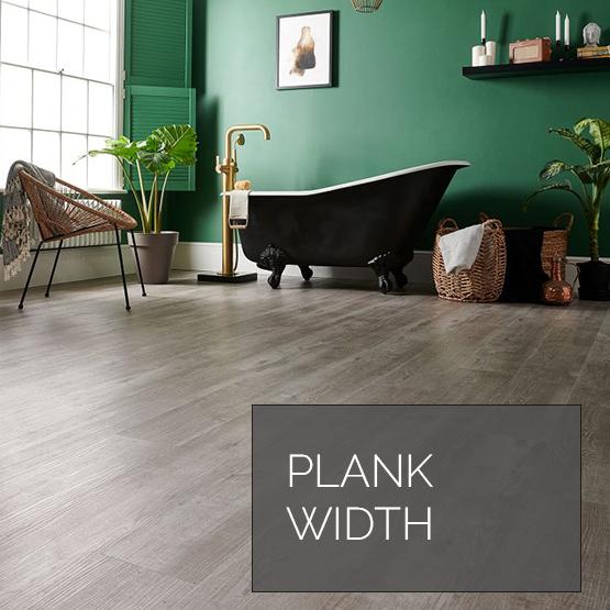 Laminate Flooring Plank Width